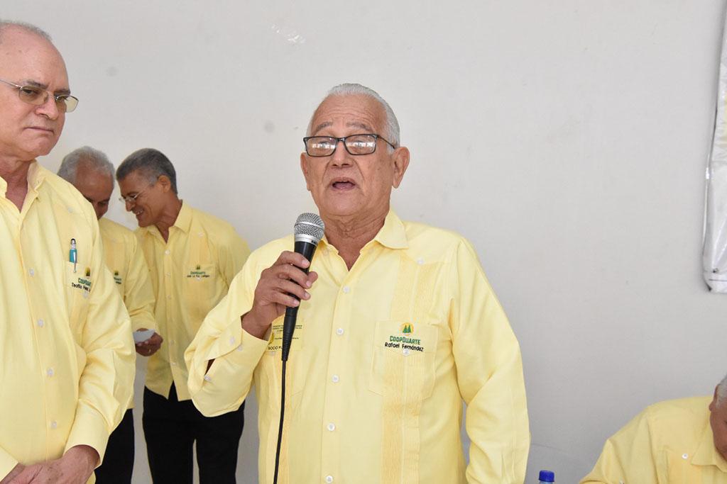 gerente de la Coop-Duarte, Ing. Rafael Fernández Valerio