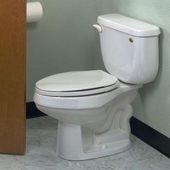 Eljer  Patriot SpaceSaver TwoPiece Elongated Toilet