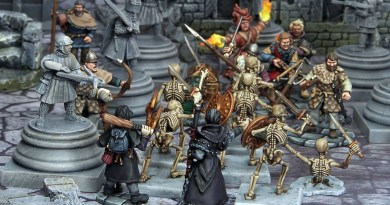Juegos de Escaramuzas (III): Frostgrave