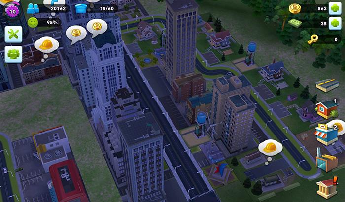ElJugón de Movil Analisis Simcity Buildit partida 2