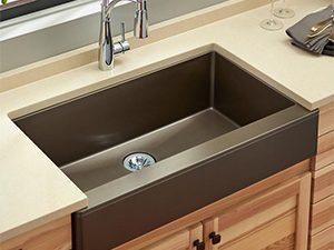 quartz kitchen sinks elkay