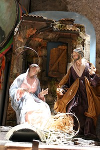 Neapel Maria und Josef