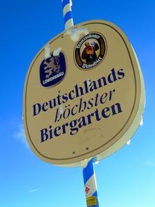 Zugspitze Biergarten