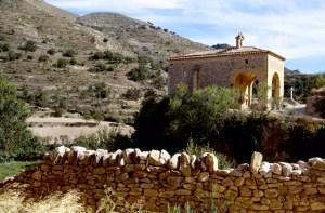 Maestrazgo Mirambel Ermita de San Roque