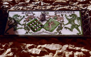 Maestrazgo Mirambel Keramik Casa Camanes