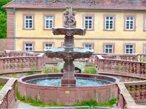 Klosterbrunnen Bronnbach 2016-06-16 Foto Elke Backert