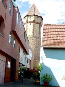 Spitzer Turm Wertheim Judenviertel 2016-06-16 Foto Elke Backert