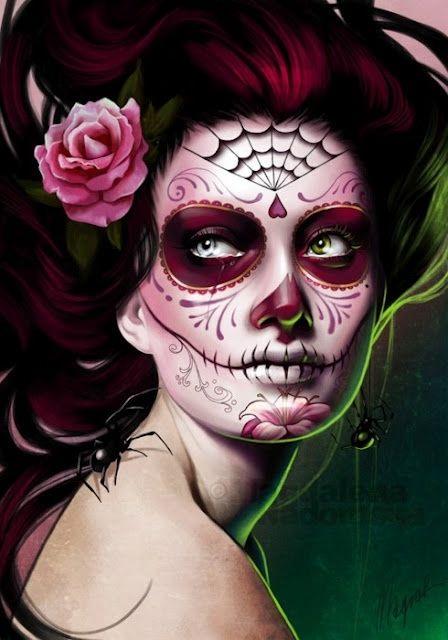 Beautiful Halloween Makeup Ideas 11