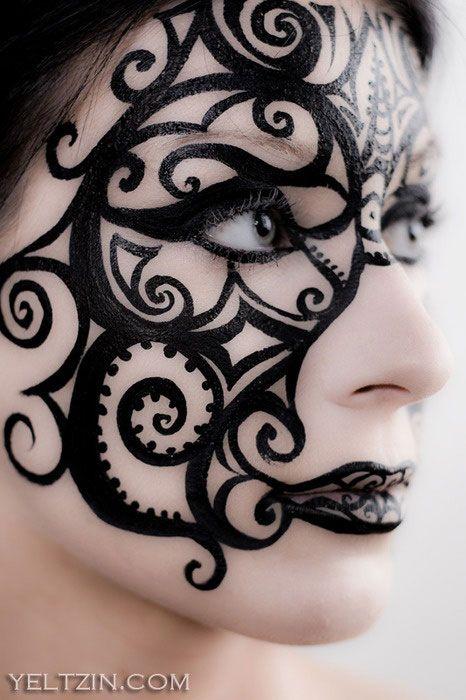 Beautiful Halloween Makeup Ideas 12
