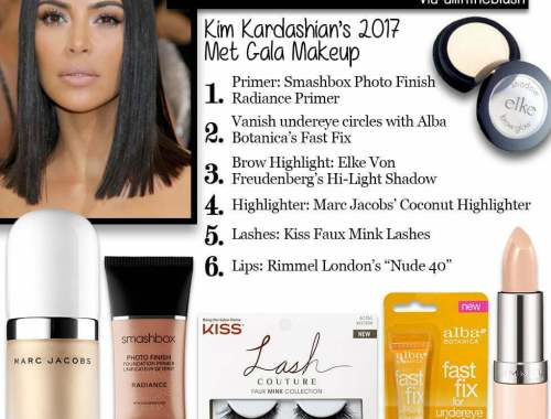 Get Kim Kardashian's Makeup Look with our Brow Highlights