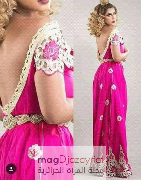 اللباس التقليدي الجزائري البلوزة الوهرانية 2018
