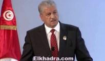 Abdelmalek Sellal en visite à Tunis pour co-présider la Grande commission mixte 8