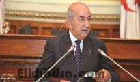 Conseil de la Nation: M. Tebboune présente mercredi le plan d'action du gouvernement 19