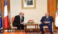 Tebboune reçoit le ministre français des Affaires étrangères 34