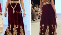 Robe constantinoise moderne - Robe traditionnelle algerienne 16