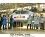 Renault Russie a livré 30 000 carrosseries Renault Symbol à l'usine Renault Algérie Production 4