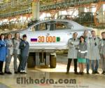 Renault Russie livre à l'Algérie sa 30 000ème carrosserie produite localement 2