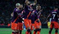 Manchester City s'impose face à Tottenham avec un but de Riyad Mahrez 27