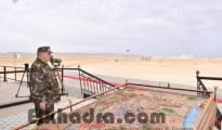 Gaïd Salah supervise l'exécution d'un exercice démonstratif combiné avec munitions réelles 12