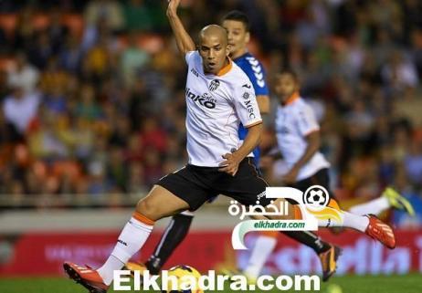 فيغولي ضمن التشكيلة الأساسية لفالنسيا الإسباني التي ستواجه ألميريا 24