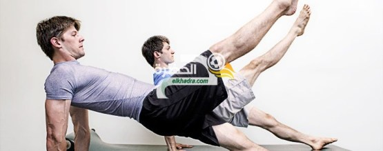 تمارين بيلاتس العالمية لتقوية عضلات البطن والظهر بأسرع وقت ممكن 24