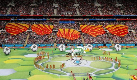 بالصور .. حفل إفتتاح كأس العالم 2018 في روسيا 24