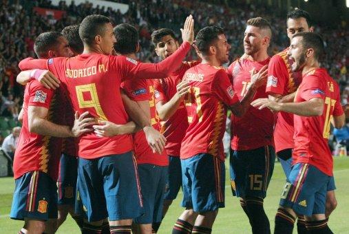 """اسبانيا تكتسح """"كرواتيا"""" بسداسية في دوري الأمم الأوروبية 24"""