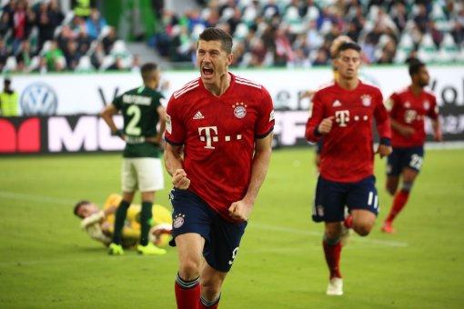 بايرن ميونخ يفوز على فولفسبورج بثلاثة أهداف مقابل هدف 24