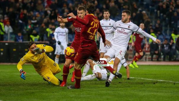 روما 1-1 ميلان : التعادل الإيجابي يحسم القمة بين الذئاب والروسونيري 24