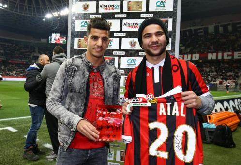 يوسف عطال ينال جائزة لاعب الشهر في نيس 24