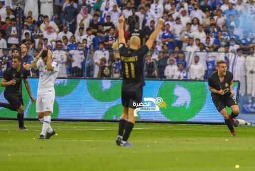 النصر يحسم الديربي امام الهلال في الدوري السعودي 24