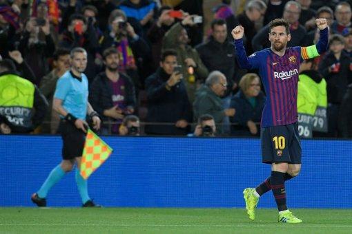 برشلونة يسحق ليون ويتأهل لربع نهائي دوري أبطال أوروبا 24
