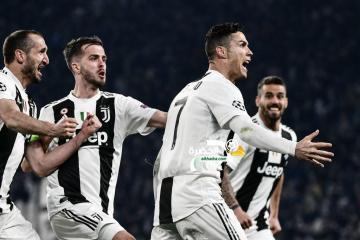 هاتريك رونالدو يقود يوفنتوس إلى ربع نهائي دوري أبطال أوروبا 38