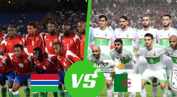 القنوات الناقلة لمباراة الجزائر وغامبيا اليوم 22-03-2019 Algérie – Gambie 24