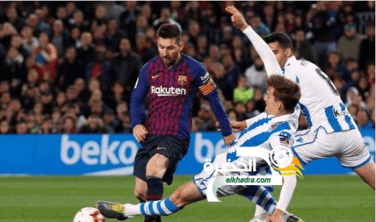 برشلونة يحقق فوزاً صعباً على حساب ضيفه ريال سوسييداد 24