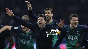 مورا يقود توتنهام لنهائي دوري الأبطال في مباراة تاريخية 27