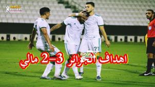 بالفيديو شاهد ﺃﻫﺪﺍﻑ مباراة ﺍﻟﺠﺰﺍﺋﺮ و ﻣﺎﻟﻲ 3-2 algeria vs mali 26