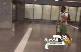 فيديو وصول المهاجم اندي ديلور الى تربص المنتخب الوطني 35
