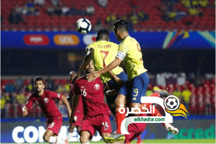 كولومبيا تفوز بهدف دون رد أمام قطر وتتأهل للدور الثاني في كوبا أمريكا 25