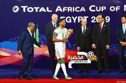 وزير الرياضة المصري يكشف حقيقة رفض رياض محرز مصافحته ومصافحة رئيس الوزراء 33