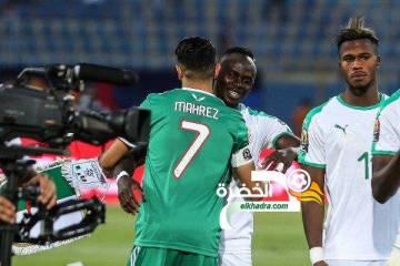 محرز يقود التشكيلة المثالية للدور الأول لبطولة كأس الأمم الأفريقية 33