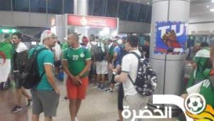 مطار القاهرة يستقبل آلاف الجماهير الجزائرية 26