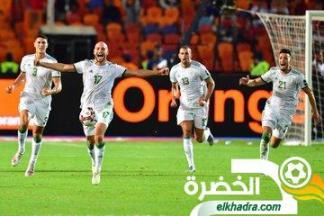 ترتيب الفيفا لشهر يوليو : المنتخب الجزائري يرتقي الى المركز ال40 31