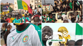 استقبال تاريخي للمنتخب السنغالي في داكار 34
