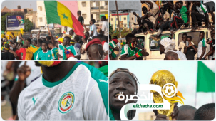 استقبال تاريخي للمنتخب السنغالي في داكار 29