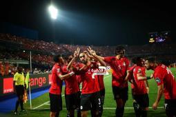 منتخب مصر بزيه الأساسي في مواجهة جنوب أفريقيا 29