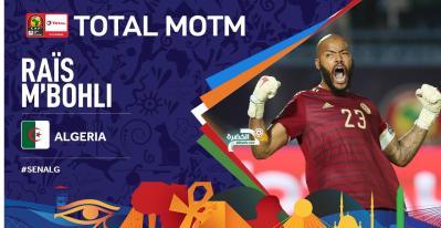 الجزائر 1-0 السينغال : مبولحي رجل المباراة 28