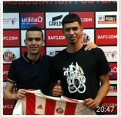 الحارس الجزائري أحمد عبد القادر '20 سنة' يمضي مع فريق سندرلاند الإنجليزي!! 29