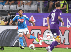 غولام بديل ونابولي يفوز على مضيفه فيورنتينا في مباراة ملحمية 29