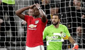 مانشستر سولشاير يسقط في فخ التعادل على أرض وولفرهامبتون 33